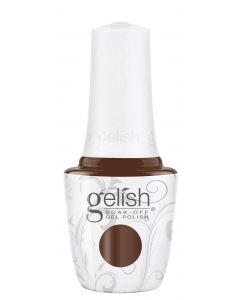 Gelish Soak-Off Gel Polish Totally Trailblazing, 0.5 fl oz. HOT CHOCOLATE CREME