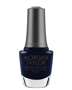 Morgan Taylor Laying Low Nail Lacquer, 0.5 oz. RICH NAVY BLUE CREME