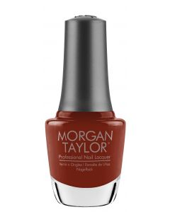 Morgan Taylor Afternoon Escape Lacquer, 0.5 oz. BURNT ORANGE CREME