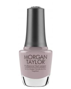 Morgan Taylor Keep 'Em Guessing Lacquer, 0.5 oz. TAUPE CREME