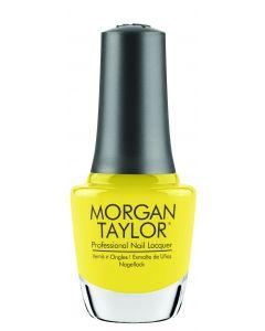 Morgan Taylor Professional Nail Lacquer Glow Like A Star, 0.5 fl oz. YELLOW CREME