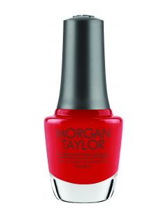 Morgan Taylor Professional Nail Lacquer Put on Your Dancin' Shoes, 0.5 fl oz. RED CREME