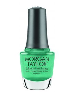 Morgan Taylor Professional Nail Lacquer Sir Teal To You, 0.5 fl oz. TEAL SHIMMER