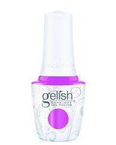 Gelish Soak-Off Gel Polish Tickle My Keys, 0.5 fl oz. BRIGHT PINK CREME