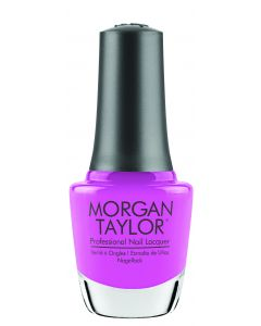 Morgan Taylor Professional Nail Lacquer Tickle My Keys, 0.5 fl oz. BRIGHT PINK CREME