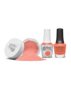 Gelish Trio Orange Crush Blush Summer 2021