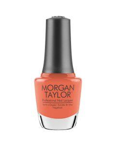 Morgan Taylor Orange Crush Blush Nail Lacquer, 0.5 fl oz. ORANGE-Y CORAL CREME