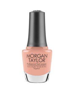 Morgan Taylor It's My Moment Nail Lacquer, 0.5 fl oz. BRIGHT PEACH CREME