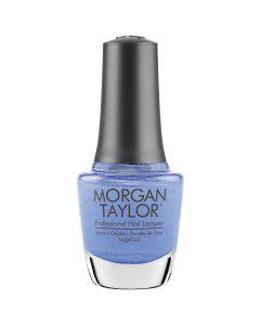 Morgan Taylor Keepin' It Cool Nail Lacquer, 0.5 fl oz. AZURE BLUE SHIMMER