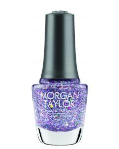 Morgan Taylor Professional Nail Lacquer Bedazzle Me, 0.5 fl oz. GLITTER OVERLAY