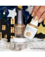 Gelish Trio Gilded in Gold Winter 2019